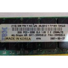 IBM 39M5811 39M5812 2Gb (2048Mb) DDR2 ECC Reg memory (Павловский Посад)