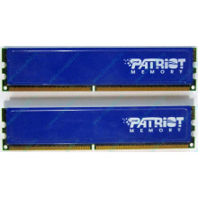 Память 1Gb (2x512Mb) DDR2 Patriot PSD251253381H pc4200 533MHz (Павловский Посад)