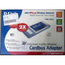 Wi-Fi адаптер D-Link AirPlus DWL-G650+ для ноутбука (Павловский Посад)